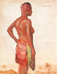 femme africaine by fernand allard l'olivier