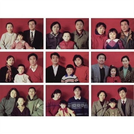 standard family series 2 8 others 9 works by wang jinsong
