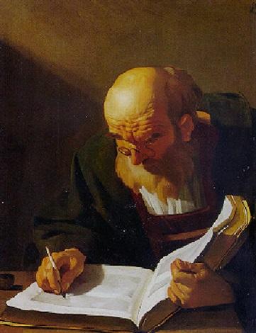 Αποτέλεσμα εικόνας για man writing painting