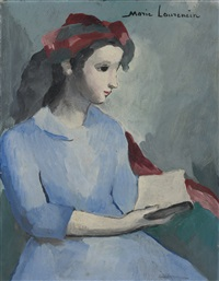 la lecture by marie laurencin