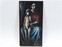 mother and child by noel rockmore