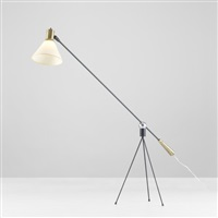 floor lamp (model f-1-w) by gilbert watrous