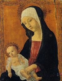 madonna con bambino by romano antoniazzo