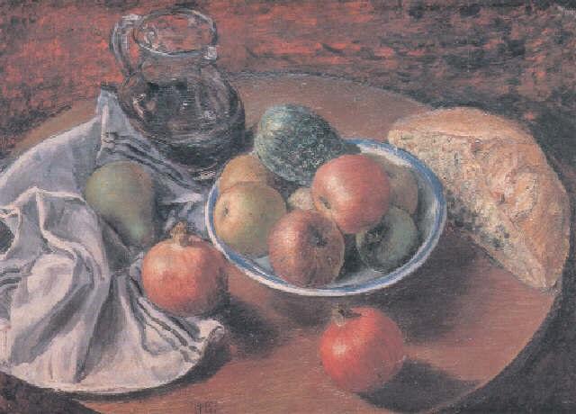 pan vino y frutas by jose aguiar garcia