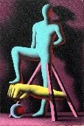 anonimously objectified by mark kostabi