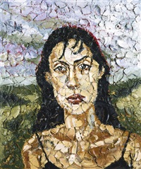anh in montauk by julian schnabel