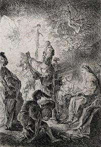 die anbetung der könige by johann evangelist holzer