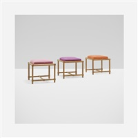stools (set of 3) by tommi parzinger