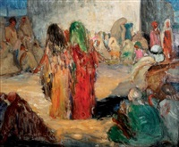 danseuses marocaines by louise lucas-bedouille