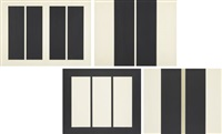 untitled (set of 4) by john mclaughlin