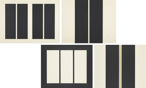untitled set of 4 by john mclaughlin