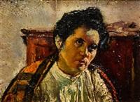 retrato de mujer by nicolas raurich y petre