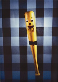 talking baseball bat by laurie simmons