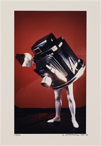 walking camera (jimmy the camera) by laurie simmons