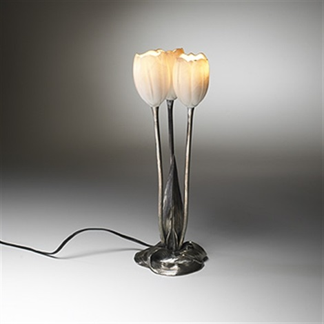 Tulip table lamp by albert cheuret on artnet tulip table lamp by albert cheuret aloadofball Image collections