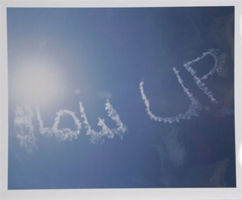 blow up from en el cielo portfolio by rirkrit tiravanija