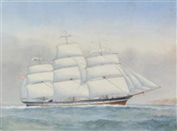 clipper halcione, master john smith by harold percival