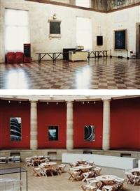 teatro olimpico vicenzo (+ museum van hedendaagse kunst gent iii, 1995 (2); 2 works) by candida höfer