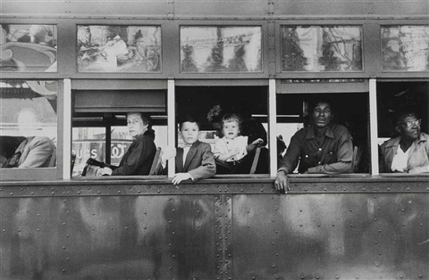 trolley new orleans by robert frank