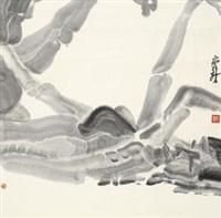 水墨人物 by zhou jingxin