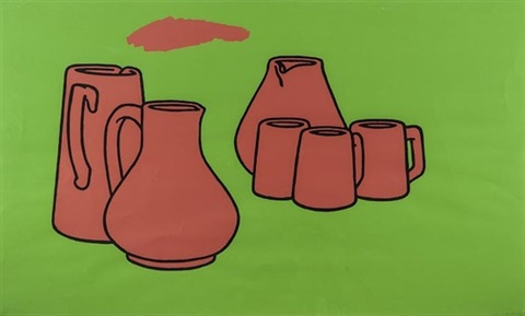 earthenware by patrick caulfield