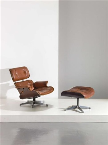 Chaise Longue Con Poggiapiedi By Charles And Ray Eames