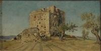 castello diroccato by telemaco signorini