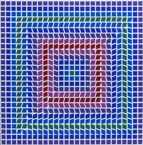 t. ceti mc n° p 998 by victor vasarely