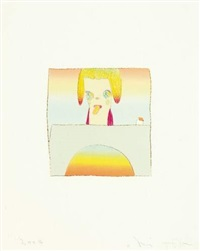 over the rainbow by hiroshi sugito and yoshitomo nara