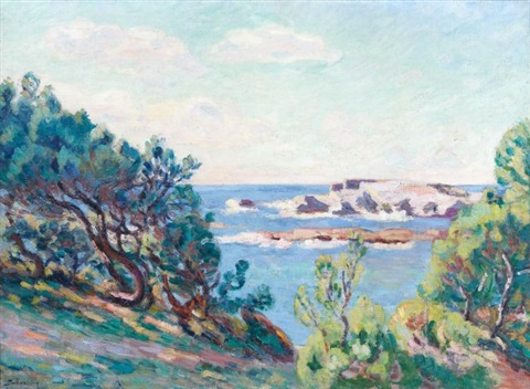 le brusc près de toulon by armand guillaumin