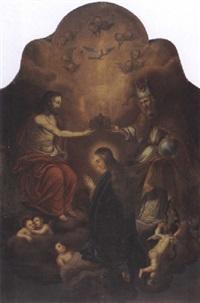 coronation of the virgin by domingo martinez