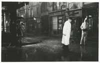 tournage de irma la douce (2 works) by alexander trauner