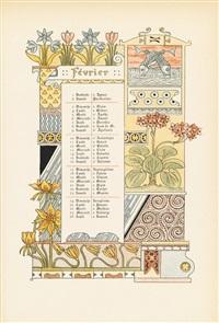 les douze mois de 1889 by eugène grasset