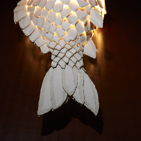 fish lamp by frank gehry