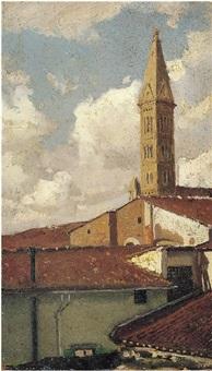 il campanile di santa maria novella by pietro senno