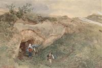 aus der römischen campagna nach dem regen by oswald achenbach