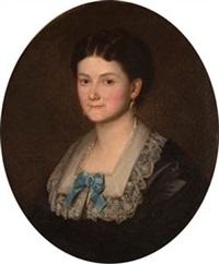 retrato de dama by josé gutiérrez de la vega