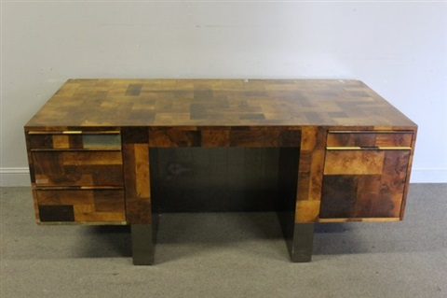Directional Cityscape Desk By Paul Evans
