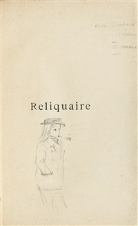 reliquaire, poésies (bk w/1 work) by paul verlaine