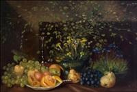 kukkia maljakossa - blommor i vas by philippe de rougemont
