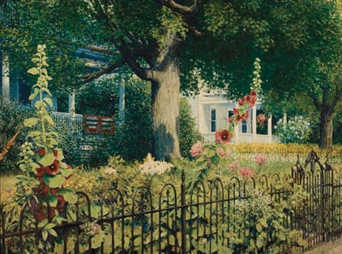 westminster street, bellows falls, vermont by wally ames