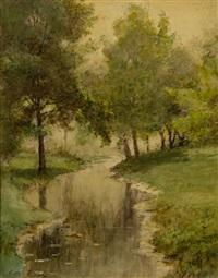 riverscape by arthur parton