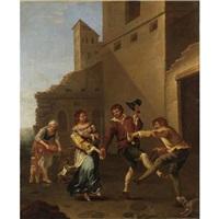 contadini che danzano by dirk helmbreker
