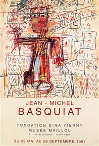 jean - michel basquiat / musée maillol by jean-michel basquiat