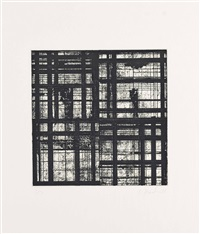 tiles: one plate by brice marden