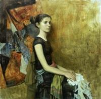 portrait of a girl by margarita kolobova