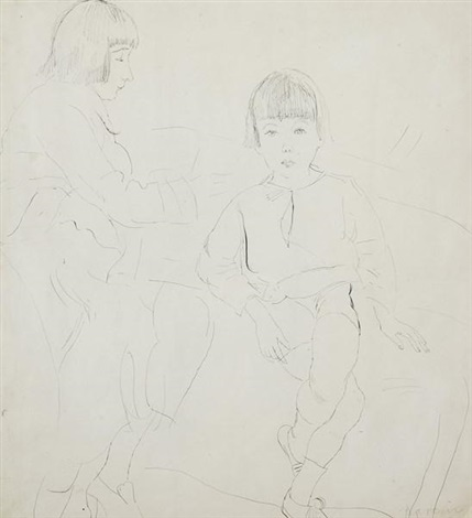 guy et lucy krog by jules pascin