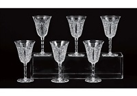 wine glass: conde (set of 6) by baccarat