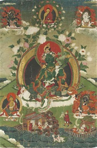 green tara by anonymous-tibetan (18)