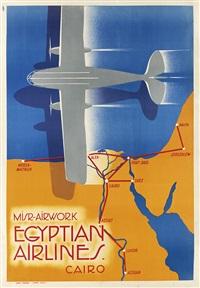 misr - airwork/egyptian airlines by n. strekalovsky